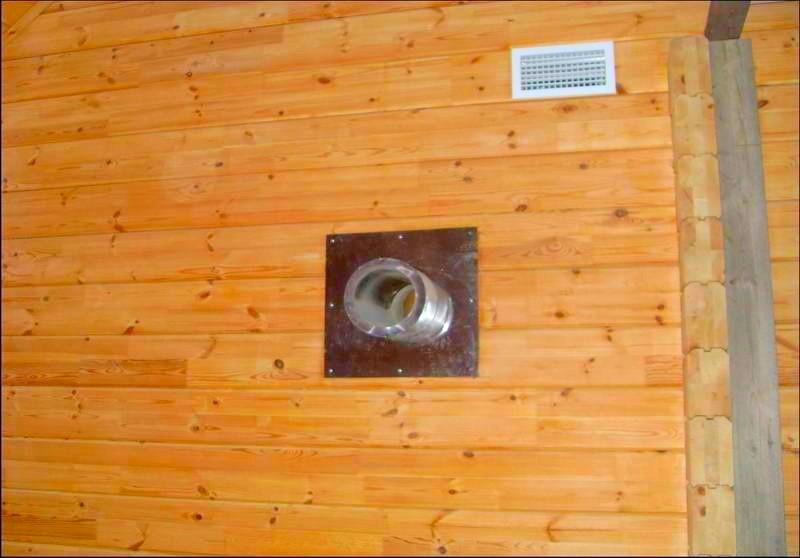 Простая вентиляция в деревянном доме