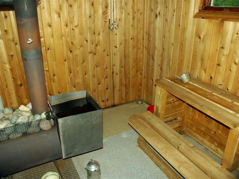 внутренний дымоход в бане