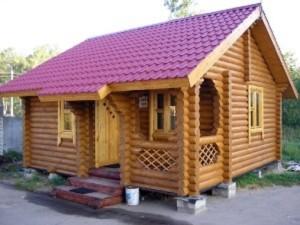 фото: двускатная крыша в 45 градусов