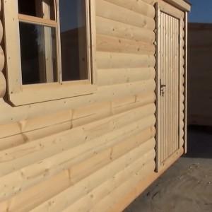 фото: отделка бани блок-хаусом