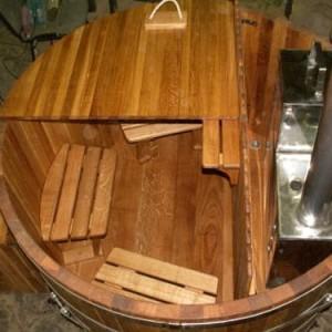 фото: деревянная бочка