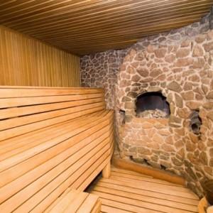 фото: дровяная печка для бани