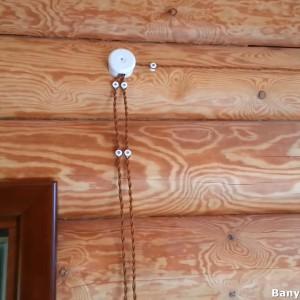 фото: электроузел в бане
