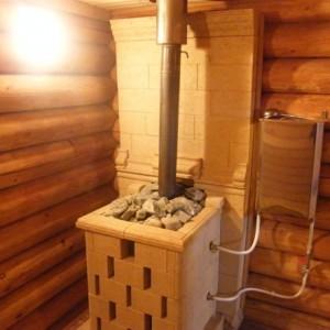 фото: печь для бани газовая