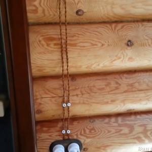 фото: проводка от розетки