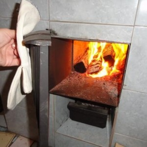 фото: топливник дровяной печи