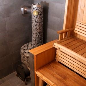 фото: железная печка для бани