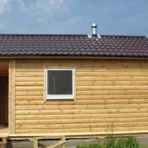 фото: Блок-хаус для отделки бани