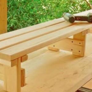фото: скамейки для бани своими руками