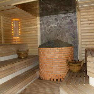 фото: каменка в русской бане