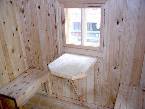фото: окно в бане