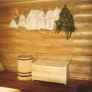 фото: предбанник русской бани