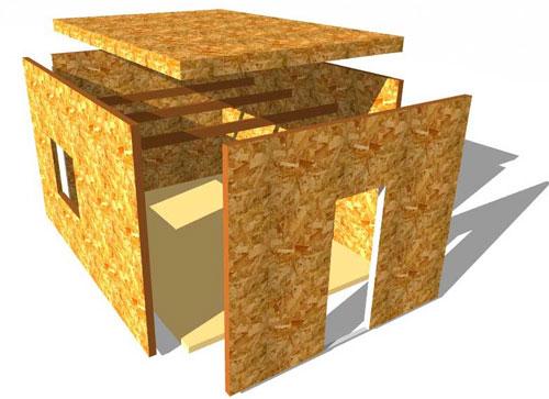фото: использование сэндвич панелей в строительстве