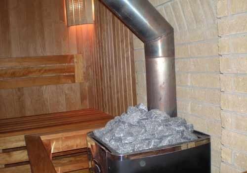 фото: как изолировать трубу в бане