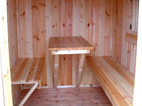 фото: отделка каркасной бани