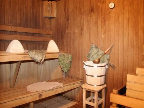 фото: баня из сосны