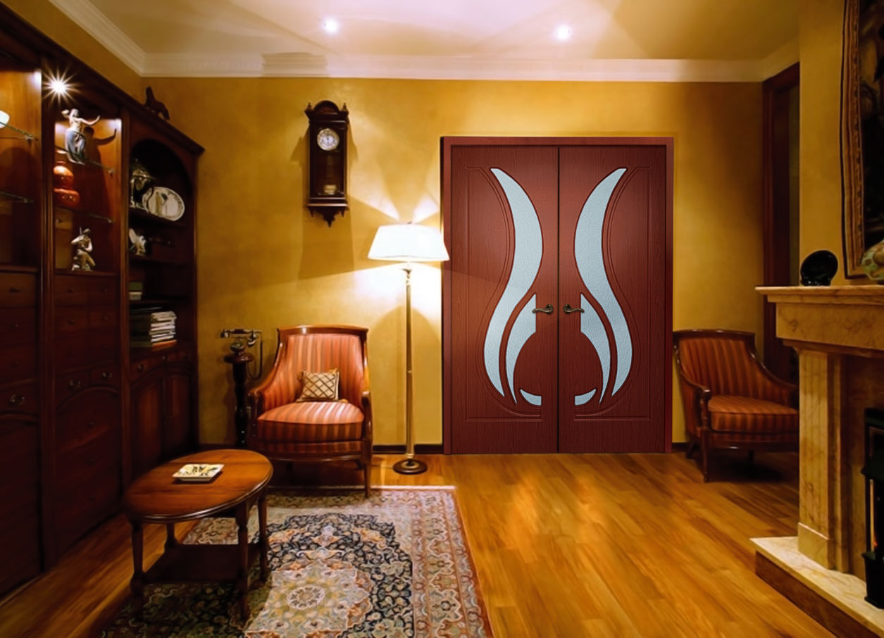 Дверь большая