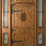 Дверь с петлями