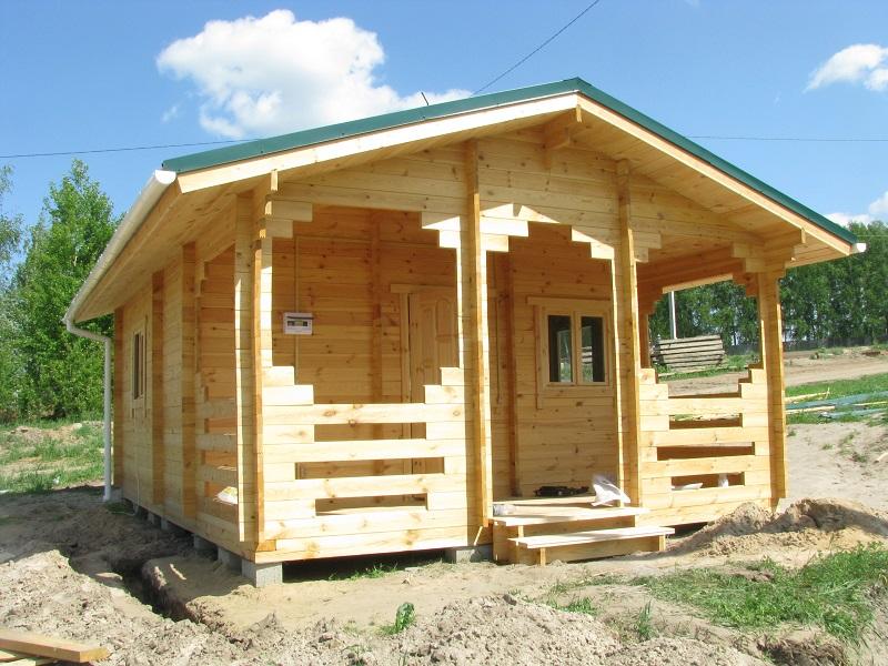 Готовая деревянная баня
