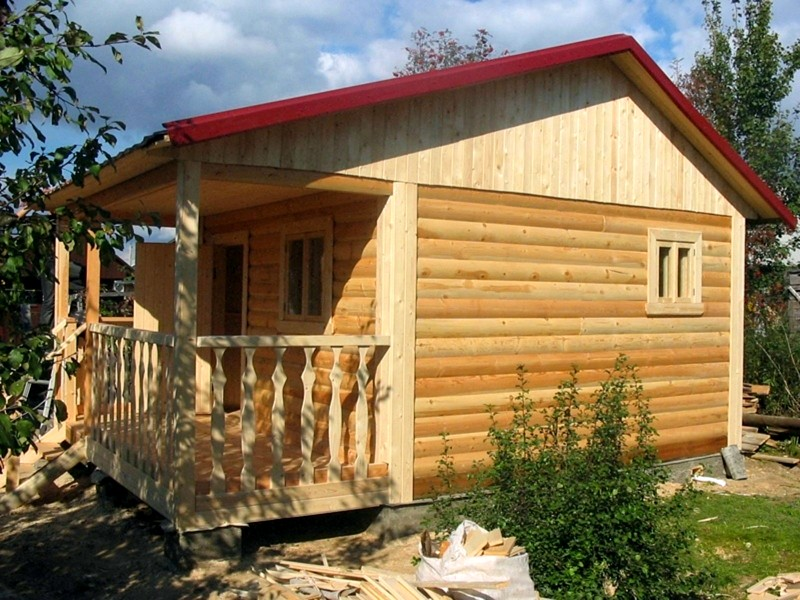 Дизайн с имитацией древесины
