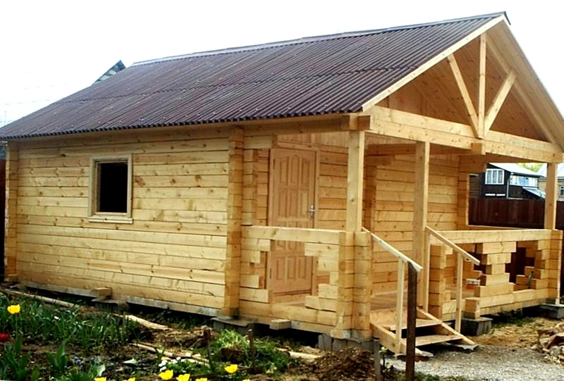 Разработка и выбор проекта дома бани из бруса