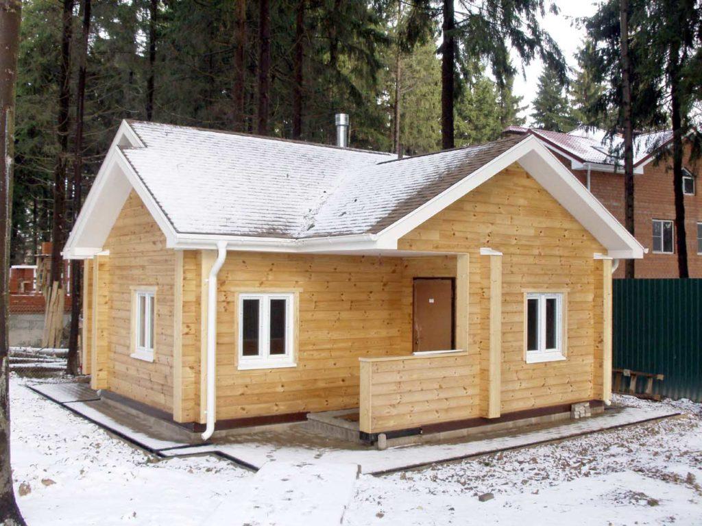 времянка зимняя фото дом озера нас