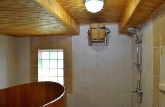 отделка помывочной в бане