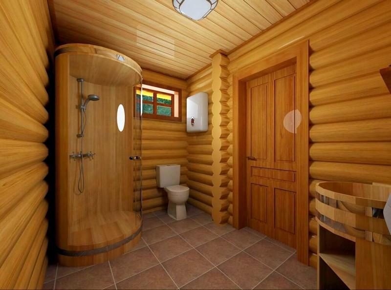 отделки пола помывочной в современной бане