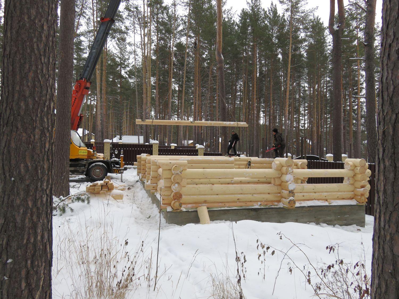 Строительство бани на даче