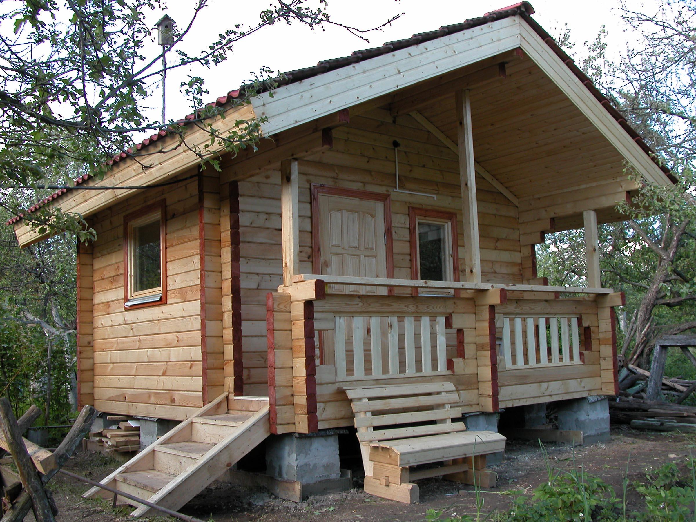 Гостевой домик из профилированного бруса