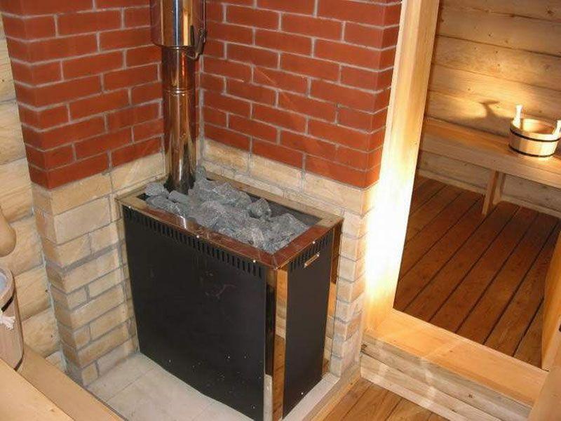 Электрическая каменная печь