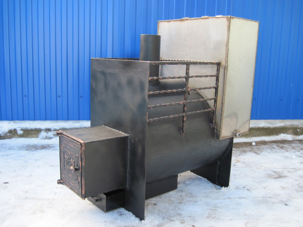 Металлическая печь