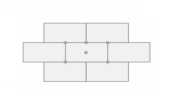 Схема крепежа пенопласта