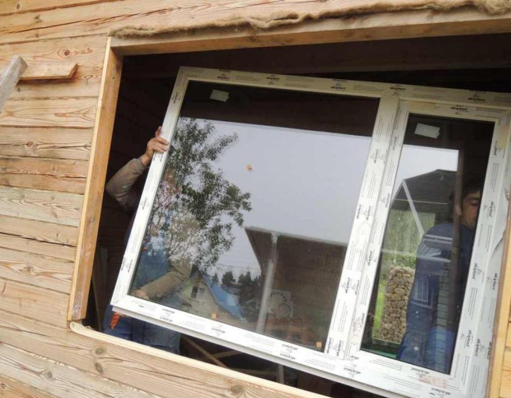Монтаж пластикового окна