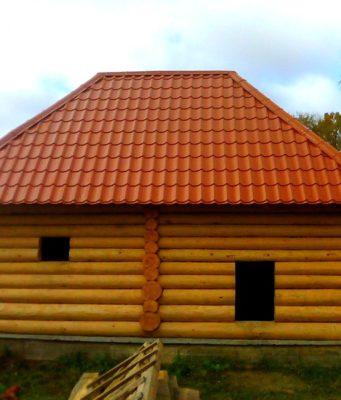 Виды крыш для бани