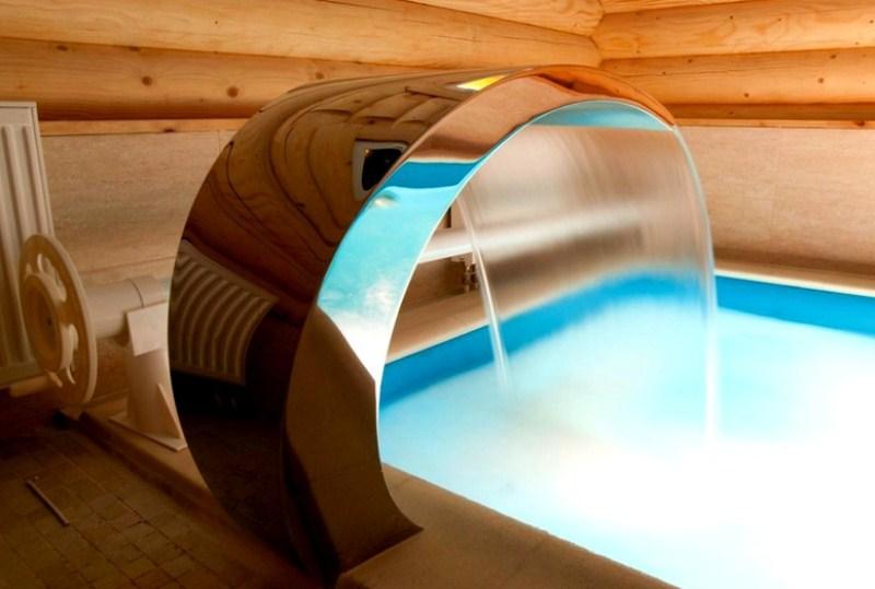 Особенности бассейна для банного комплекса