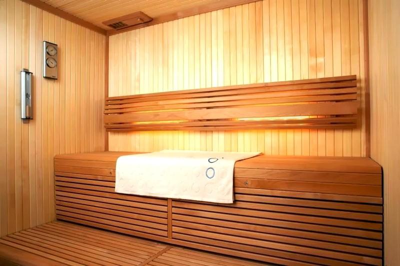 Примеры отделки деревянной бани