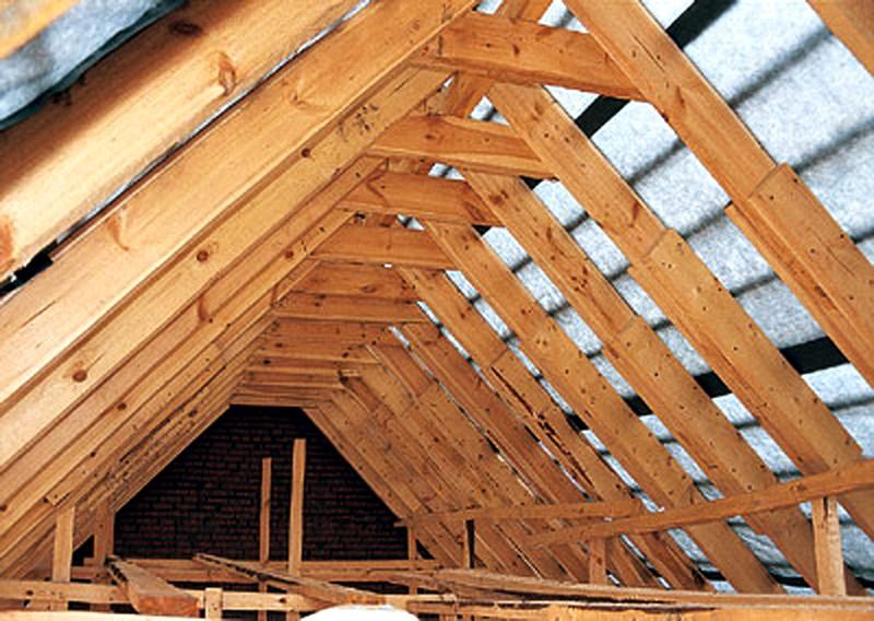 конструкции мансардной крыши