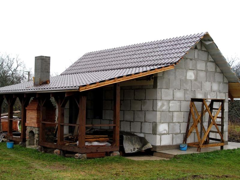 Цокольный этаж на даче фото