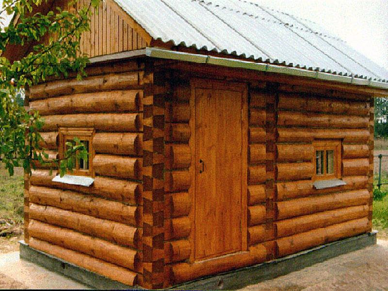 Двери для бани из дерева
