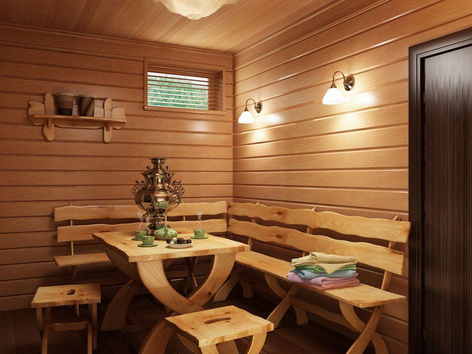 Фото русской бани изнутри
