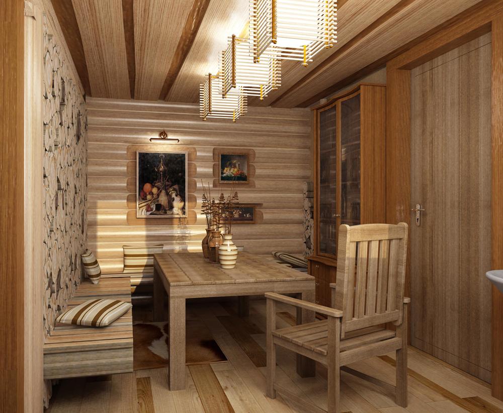 Мебель в русскоей бане