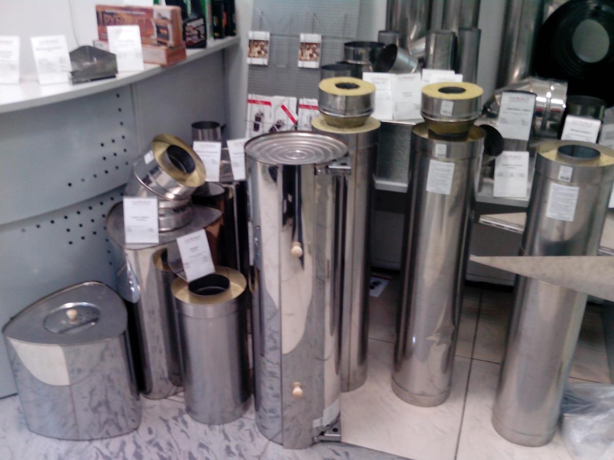 Баки-трубы на дымоход