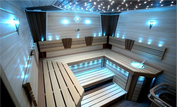 Герметичные светильники для бани
