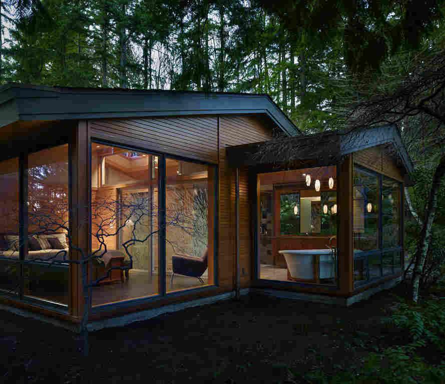 О строительстве дома в лесу