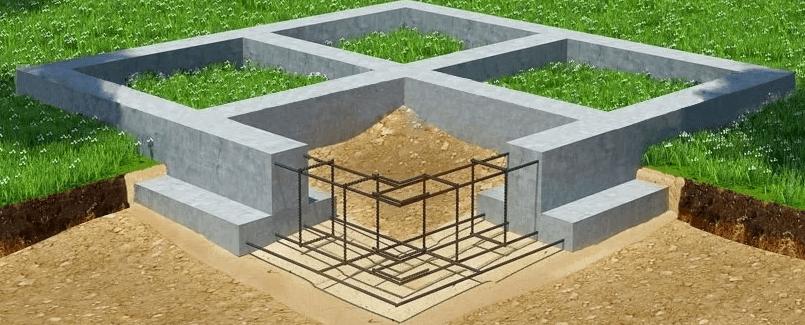 Сборный ленточный фундамент: плюсы, специфика укладки