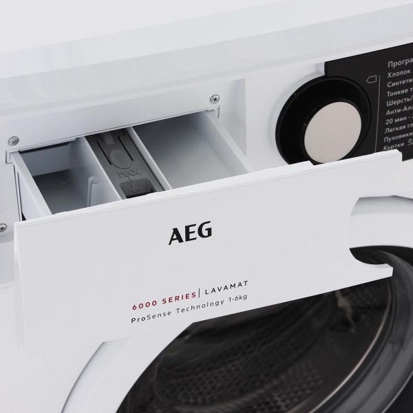 Стиральная машина с фронтальной загрузкой AEG L6SE26WR