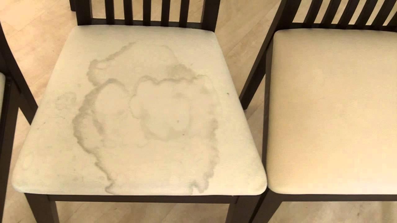 Чистка стульев от компании ЧИСТИМ ВСЁ