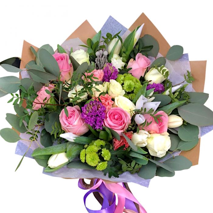 Цветы в Алмааты под зказ с доставкой по адресу
