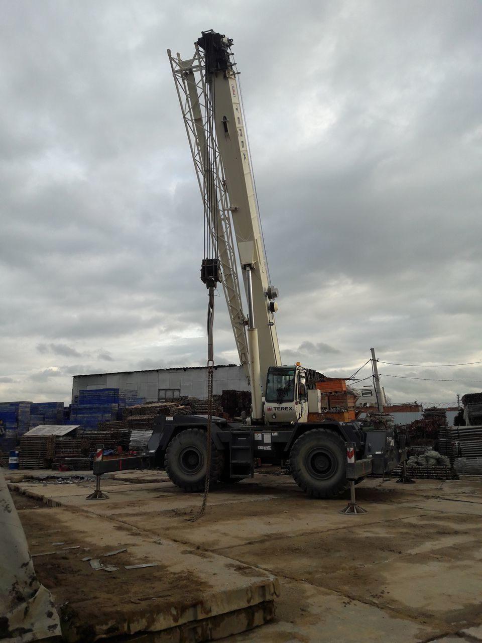 Аренда крана 50 тонн от компании АВАНСТРОЙ
